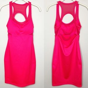 FABLETICS NWT Tropez Dress Body Con Hot Pink